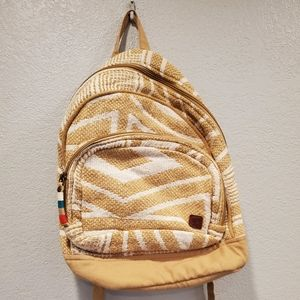 Gently used knitted Roxy backpack